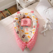 Load image into Gallery viewer, Baby Nest with Pillow Cushion