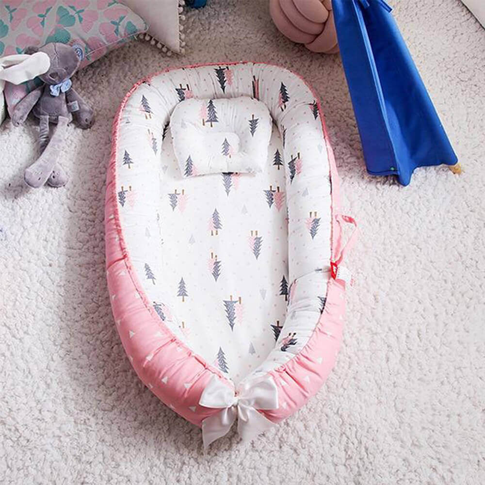 Baby Nest with Pillow Cushion