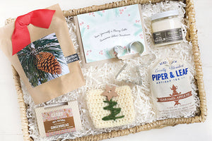 Christmas gifts. Holiday Hug Box gifts to send a hug