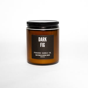 paradox candle co oregon dark fig soy candle