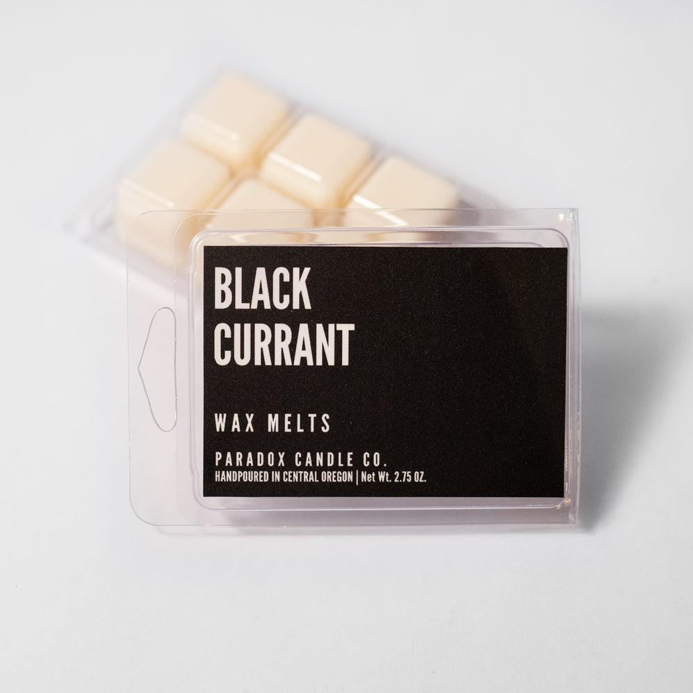 paradox candle co oregon black currant soy wax melts