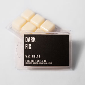 paradox candle co oregon dark fig wax melts
