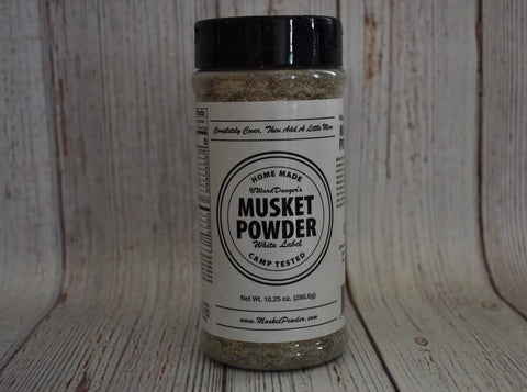 Musket Powder Seasoning - White Label