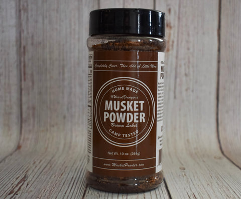 Musket Powder Seasoning - Brown Label