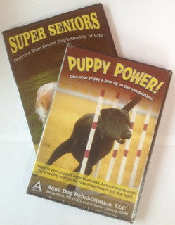 Puppy Power DVD and Super Seniors DVD Package