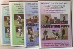 Train the Top Dog Way! Package - All 4 DVDs