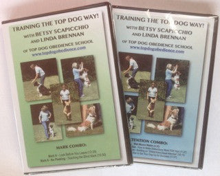 Top Dog ATTENTION DVD and MARK DVD Package