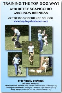 Train the TOP DOG Way - Attention Combo DVD
