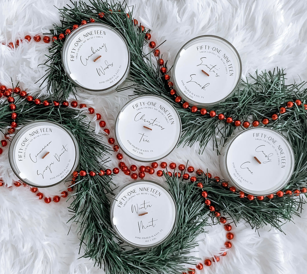 Winter Collection 4oz Candle Bundle