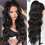 Long Body Wave Ponytail Extension Drawstring