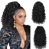 Puff Ponytail Afro Kinky Curly Hair Extension