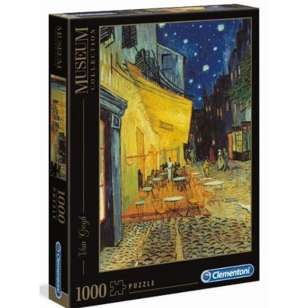 Clementoni Museum Collection - Van Gogh - Cafe Terrace at Night 1000 piece Jigsaw