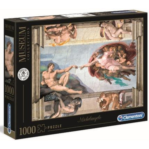 Clementoni Museum Collection - Michelangelo - The Creation of Man 1000 piece Jigsaw