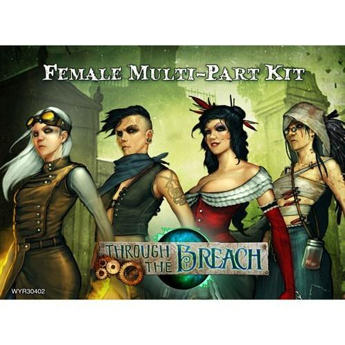 Through The Breach Rpg: Female Multi-Part Kit - Good Games
