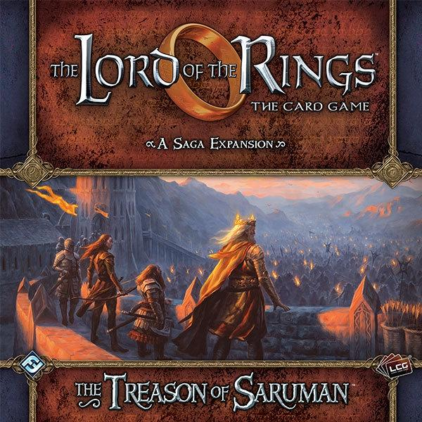 Lord Of The Rings Lcg The Treason Of Saruman - Good Games