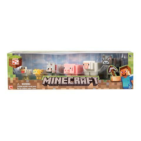 Minecraft Toys Core Animal 6 Pack - Good Games