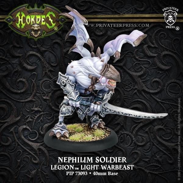 Pip73093 Everblight Nephilim Soldier - Good Games