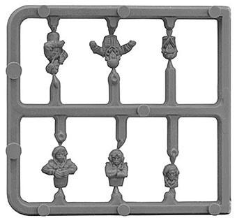Flames Of War Bso194 British Tank Commander Sprue (Special Order) - Good Games
