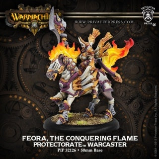 Pip32126 Menoth Feora The Conquering Flame