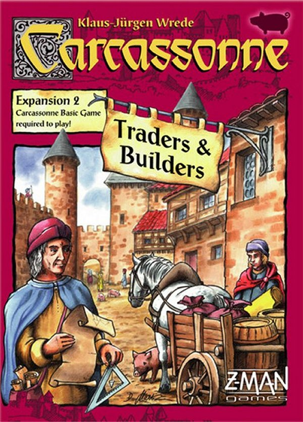 Carcassonne: Expansion 2 – Traders & Builders