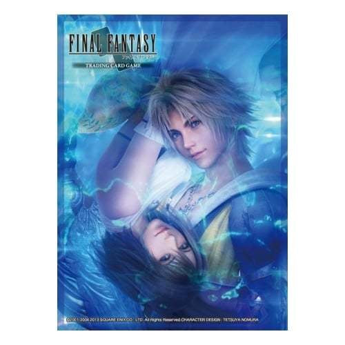 Final Fantasy Tcg Sleeve Ffx Hd Remaster Tidus/Yuna
