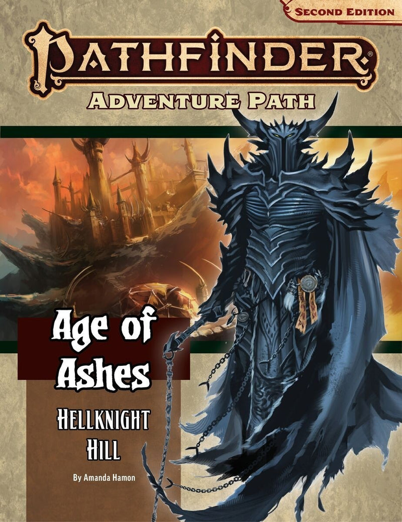 Pathfinder Second Edition Age Of Ashes Adventure Path
