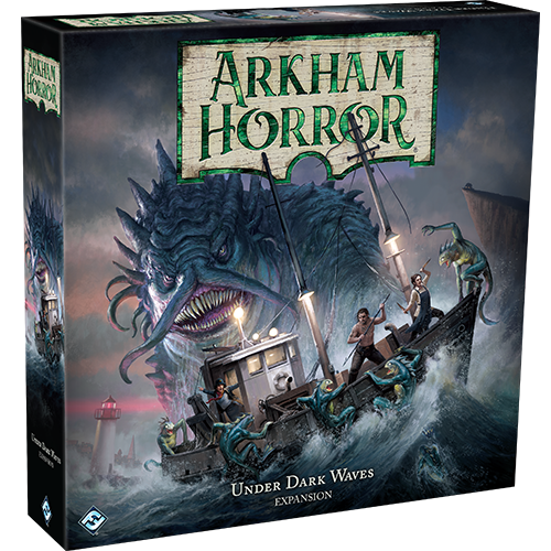 Arkham Horror 3Rd Edition Under The Dark Waves