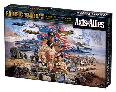 Axis&Allies Pacific 1940 2Nd Edition