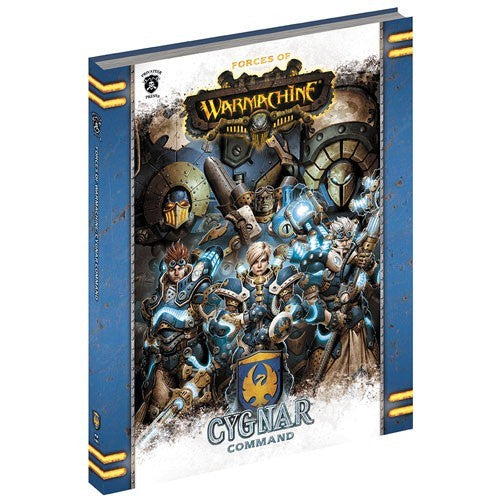 Pip1080 Forces Of Warmachine Cygnar Commander Soft Cover