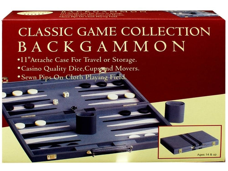 "Backgammon 11"" Vinyl Stitch"