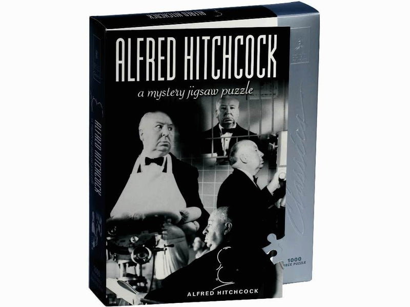 Bepuzzled Alfred Hitchcock 1000 Piece Mystery Jigsaw