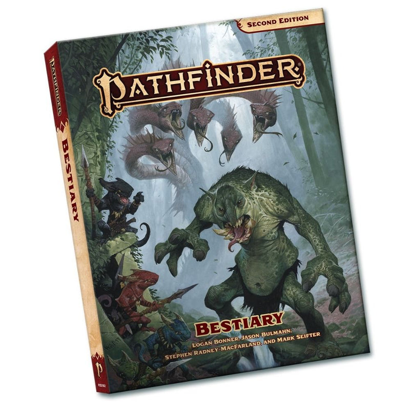 Pathfinder 2nd Edition Bestiary Pocket Edition