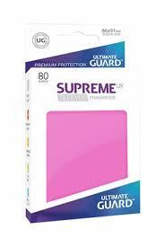 Sleeves Ultimate Guard Supreme Ux Sleeves Standard Size Solid Pink (80)