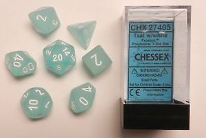 Chx 27405 Frosted Teal/White 7-Die Set