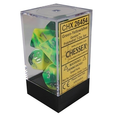 Chx 26454 Gemini Green Yellow With Silver (7)