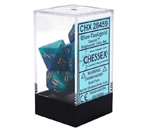 Chx 26456 Gemini Steel Teal With White (7) - Good Games