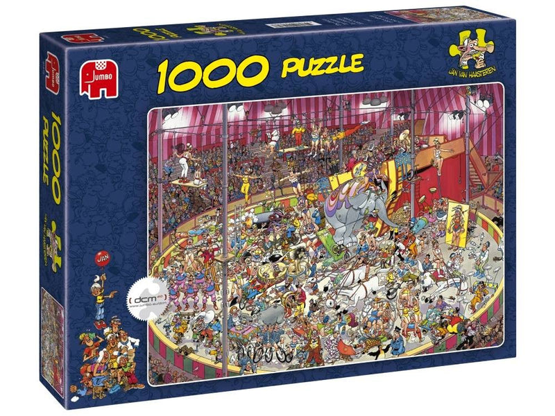 The Circus Jan Van Haasteren 1000pc Jigsaw Jumbo