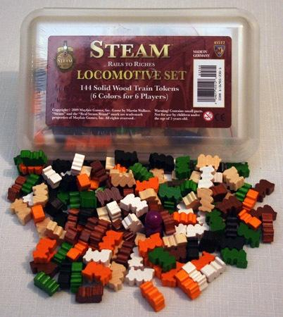 Steam Rails To Riches Locomotive Set - Good Games