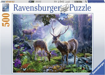 Ravensburger Deer in the Wild - 500 Piece Jigsaw