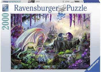 Ravensburger Dragon Valley - 2000 Piece Jigsaw