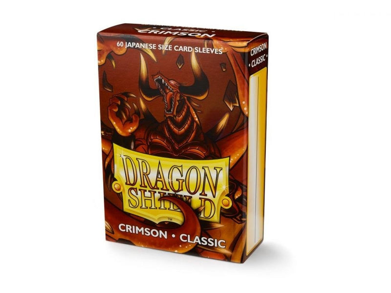 Sleeves - Dragon Shield Japanese- Box 60 - Classic Crimson
