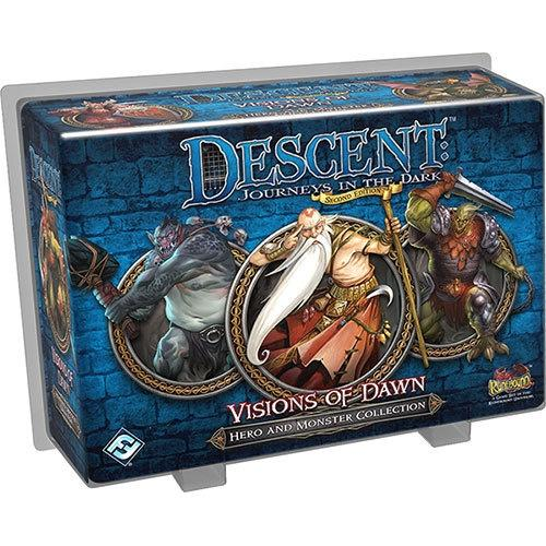 Descent 2nd Edition Visions Of Dawn Hero And Monster Collection - Good Games