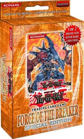 Yugioh Force Of The Breaker Special Edition - Good Games