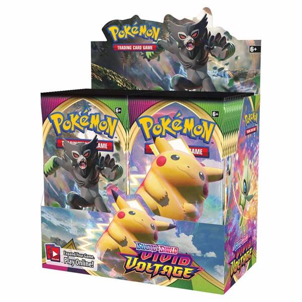 Pokemon TCG - Vivid Voltage Booster Box - Good Games