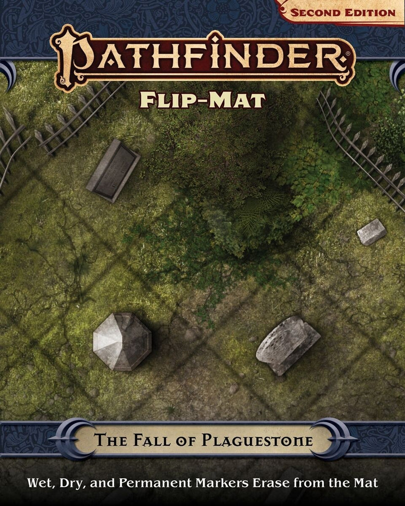 Pathfinder Second Edtion Flip Mat The Fall Of Plaguestone