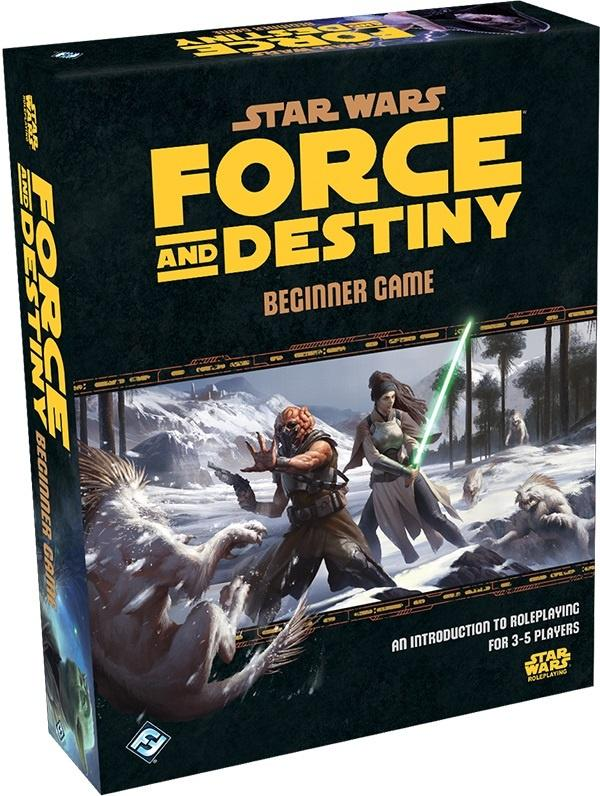 Star Wars Force And Destiny Rpg Beginner Game - Good Games