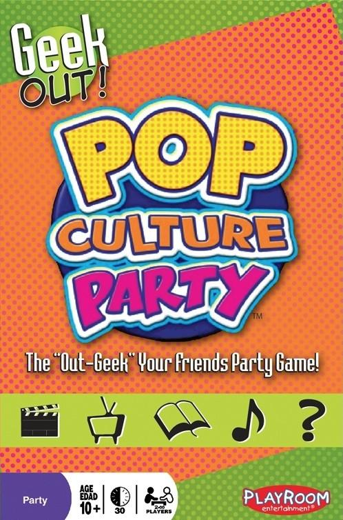 Geek Out Pop Culture Party - Good Games