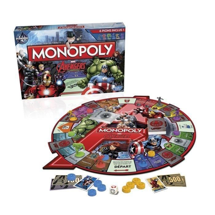 Monopoly Avengers - Good Games