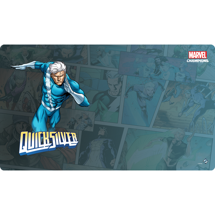 Marvel Champions: The Card Game - Quicksilver Game Mat (Preorder)