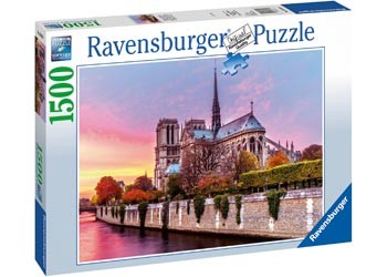 Ravensburger Picturesque Notre Dame - 1500 Piece Jigsaw
